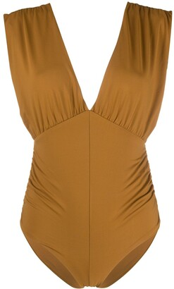 Marysia Swim Monterey ruched swimsuit