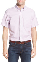 Nordstrom Regular Fit Non-Iron Tattersall Sport Shirt (Big)