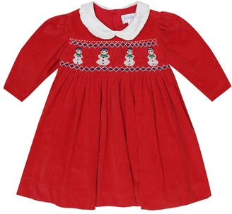 Rachel Riley Baby embroidered cotton dress