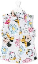 MonnaLisa Disney print sleeveless shirt