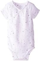 Aden Anais aden + anais Short Sleeve Body Suit (Infant)