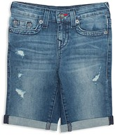 True Religion Boys' Geno Super T Jean Shorts - Little Kid