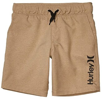 Hurley Pull-On Walkshorts (Little Kids) (Khaki) Boy's Shorts