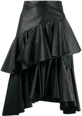 Philosophy di Lorenzo Serafini Pleated Asymmetric Skirt