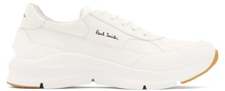 Paul Smith Ranger Exaggerated-sole Leather Trainers - White
