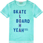 Scotch & Soda Graphic Tie Dye T-shirt