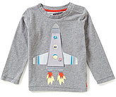 Joules Baby Boys 12 Months-3T Rocket-Appliqued Top