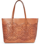Polo Ralph Lauren Laser-Cut Leather Tote