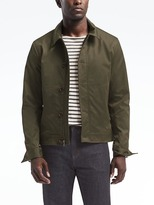 Banana Republic Water-Resistant Zip Jacket