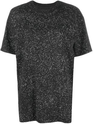 Ottolinger splatter-print T-shirt