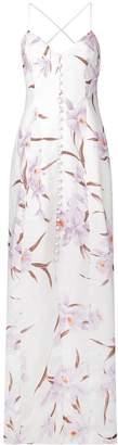 Zimmermann long floral print dress