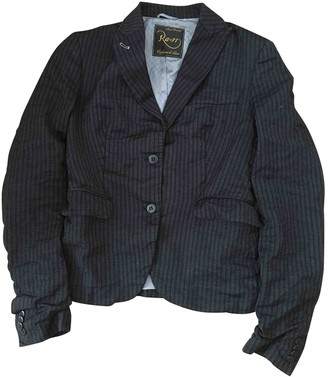 Rare Black Wool Jacket for Women