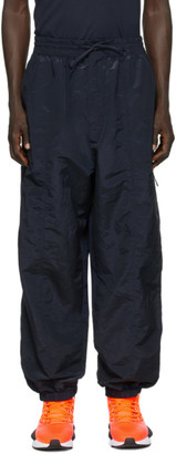 Y-3 Navy Shell Track Pants