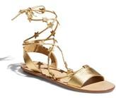 Loeffler Randall Women's Starla Ankle Wrap Sandal