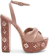 Rachel Zoe Claudette Crystal Heel in Blush