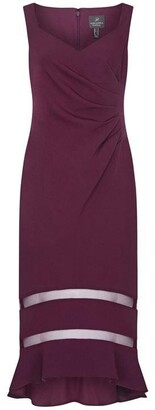 Adrianna Papell Knit Crepe Trumpet Dress