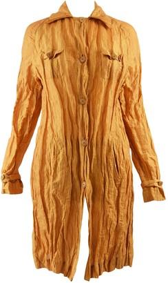Romeo Gigli Gold Cotton Jacket for Women Vintage