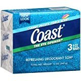 Coast Bar Soap Classic Pacific Force Scent - 3 CT by