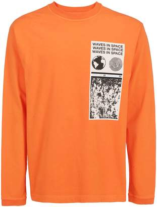 Ambush Graphic Printed Long Sleeved T-Shirt