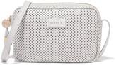 Clare Vivier Mini Sac perforated leather shoulder bag
