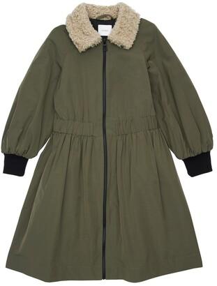 Unlabel Cotton Blend Long Coat