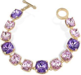A-Z Collection Amethyst Crystal Bracelet