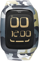 Swatch Watch, Unisex Swiss Digital Touch Camouflage Print Silicone Strap 39mm SURB105