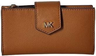 MICHAEL Michael Kors Medium Snap Wallet (Acorn) Wallet Handbags