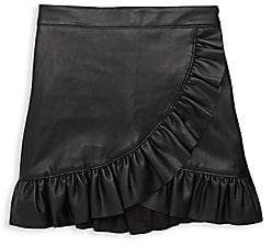 Blank NYC Girl's Ruffle Skirt