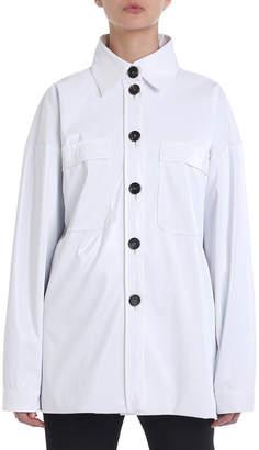 Fendi Button-Front Tech Utility Shirt