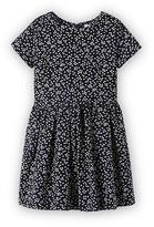 Jacadi Girls' Floral Corduroy Dress - Little Kid