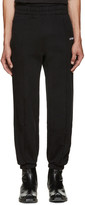 Vetements Black Biker Lounge Pants