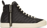 Diesel Black S-Nentish High-Top Sneakers