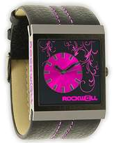 Rockwell Time Women's VN103 Vanessa White Patent Leather with Pink Watch