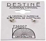 Crystallite Destine Star Earrings 5mm
