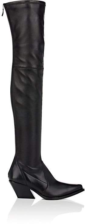Givenchy Women's Leather Over-The-Knee Boots