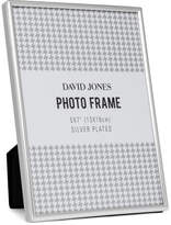 "David Jones Simple' Metal Photo Frame, 5x7""/ 13 x 18 cm"