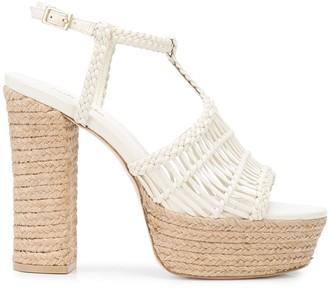 Cult Gaia Thea 100mm platform sandals