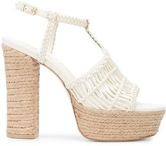 Cult Gaia Thea 100mm platform sandals