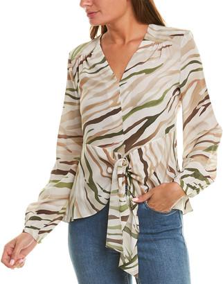 Elie Tahari Kali Silk Shirt