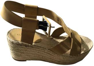 Celine Bam Bam Beige Suede Sandals