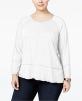 Style&Co. Style & Co Plus Size High-Low Top, Only at Macy's