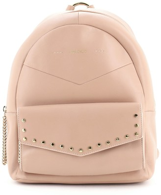 Jimmy Choo Cassie Backpack Leather with Studs