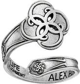 Alex and Ani Spoon Ring Breath of Life Ring
