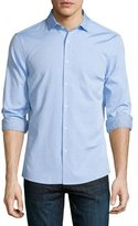 Michael Kors Slim-Fit Long-Sleeve Oxford Shirt, Light Blue