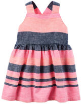 Carter's Neon Striped Dress