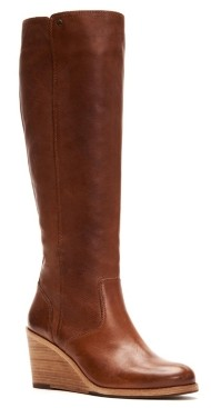 Frye Emma Wedge Tall Boots Women's Shoes