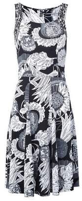 Dorothy Perkins Womens *Izabel London Black Floral Print Summer Dress, Black
