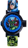 The Avengers Avengers Children's Digital Watch with Multicolour Dial Digital Display and Blue PU Strap AVG3536
