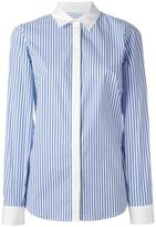 Michael Kors striped shirt - women - Cotton/Spandex/Elastane - L